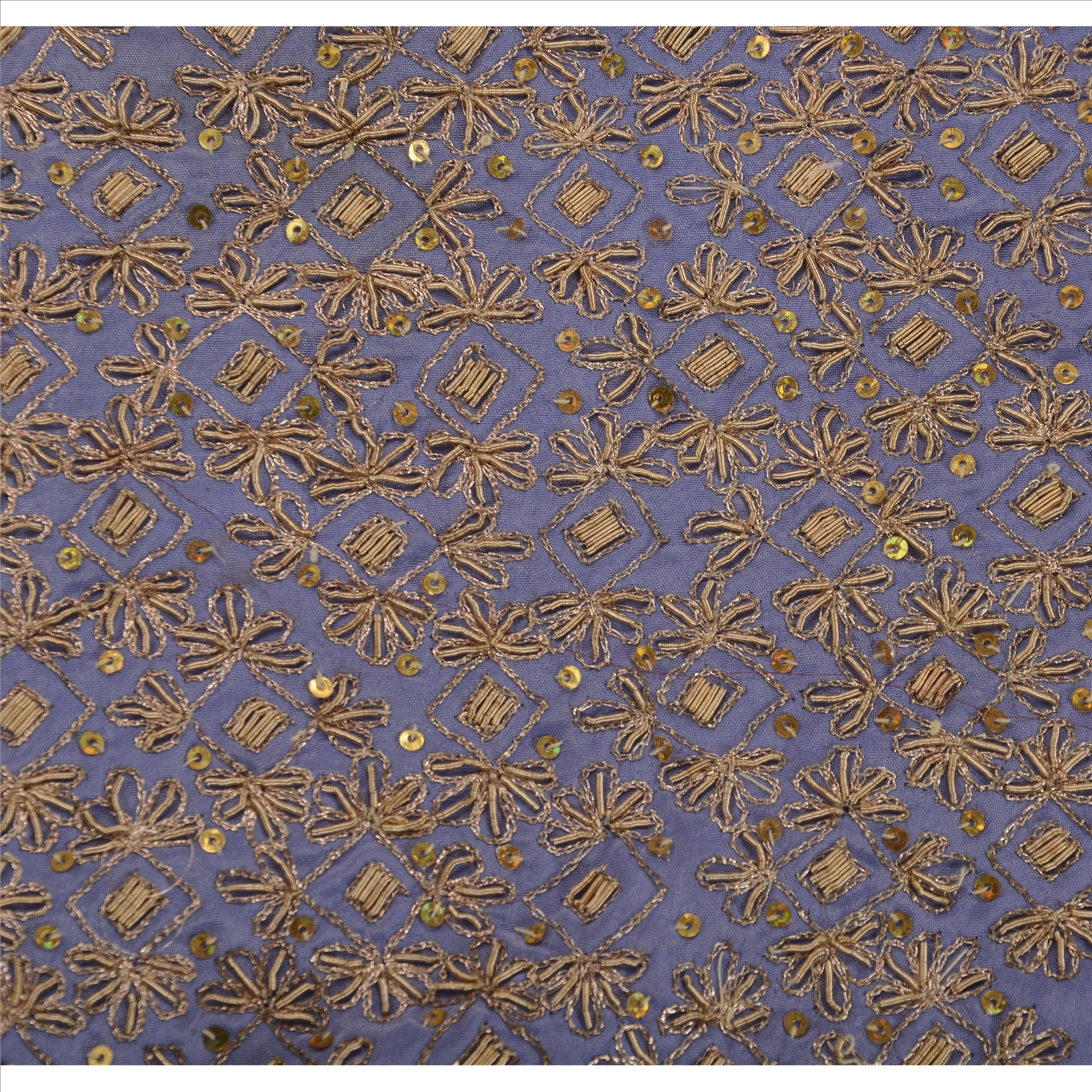 Antique vintage indian saree art silk hand embroidery